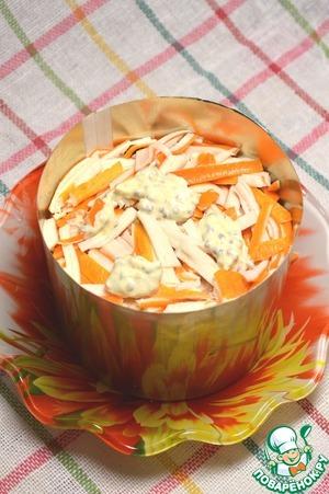 Легкий крабовый салат с сельдереем и авокадо – кулинарный рецепт