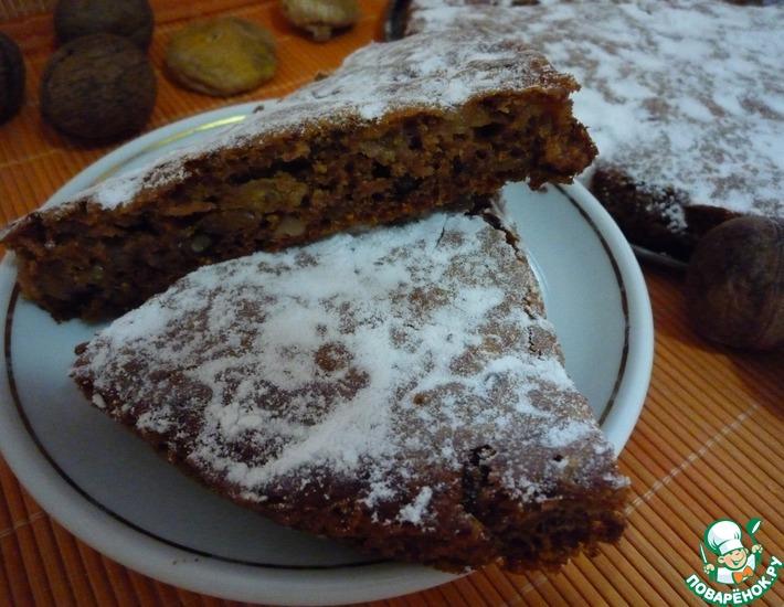 Сладкий пирог с инжиром