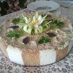 Закусочный торт из хлебушка