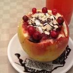 Запеченные яблоки с овсянкой Чаша здоровья