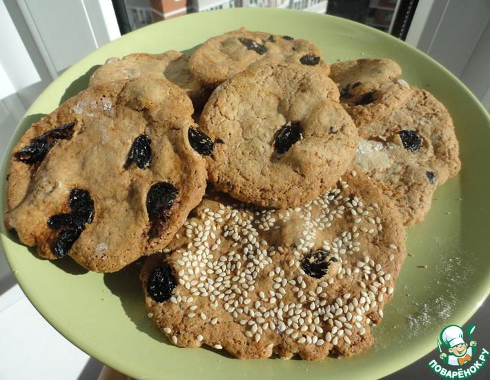 Рецепт: Печенье овсяное за 20 минут