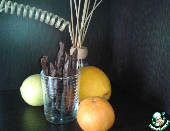 Десертные цитрусовые палочки