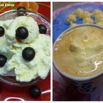 Имбирно-грейпфрутовое мороженое + кофе-гляссе