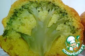 Рецепт: Маффины с брокколи