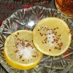 Лимонная закуска к водке – кулинарный рецепт