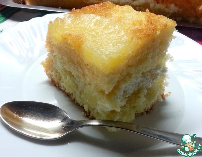 Торт ананасовый от бабушки Анны