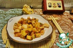 Маринованный дайкон по-китайски – кулинарный рецепт