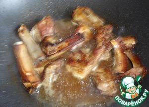 Рецепт свиных ребрышек Кальби