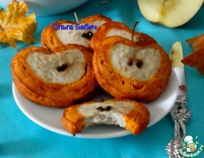 Рецепт: Куриная закуска Яблочные дольки