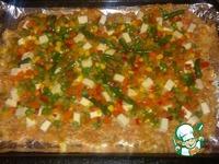 Мясная запеканка с овощами и сыром ингредиенты