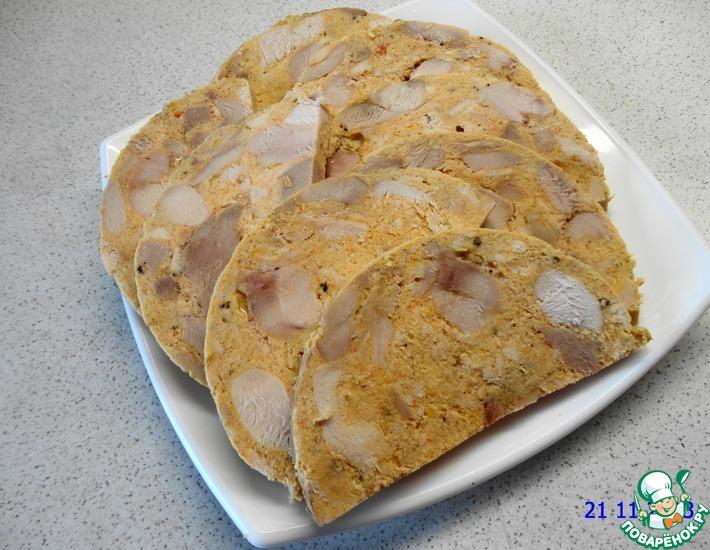 Рецепт: Ветчина куриная в ветчиннице Белобока