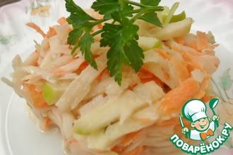 Рецепт: Салат из топинамбура
