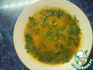 Рецепт Сырный суп с гречкой и шампьноьнами в мультиварке