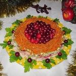 Салат Новогодняя феерия
