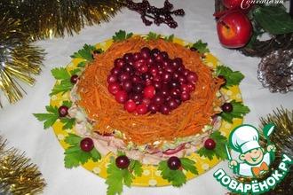 Рецепт: Салат Новогодняя феерия
