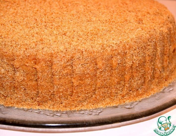 Рецепт: Торт Рыжик №№