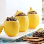 Фаршированные лимоны с тапенадой