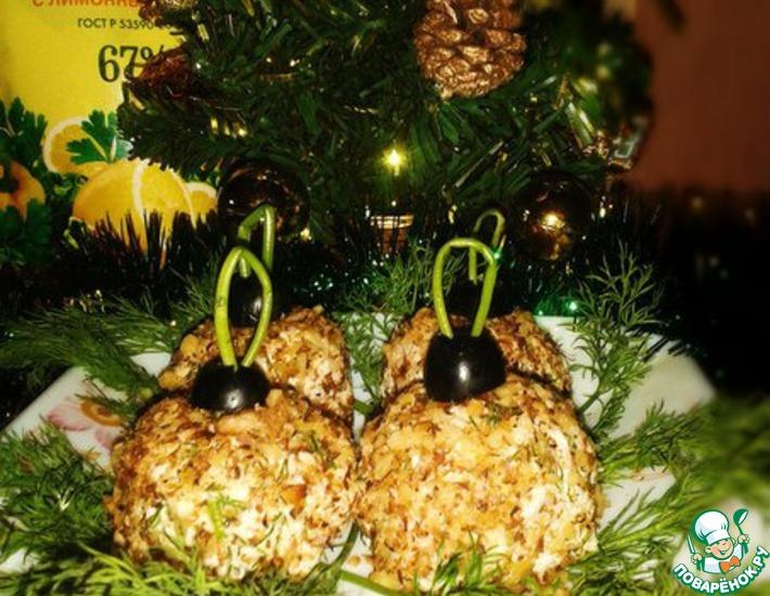 Рецепт: Салат Новогодние шары