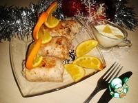 Куриные рулетики с майонезно-апельсиновым соусом ингредиенты