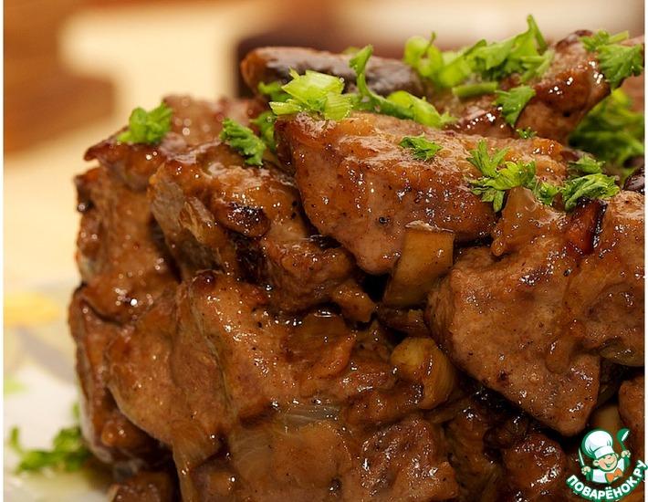 Блюда из печени козы