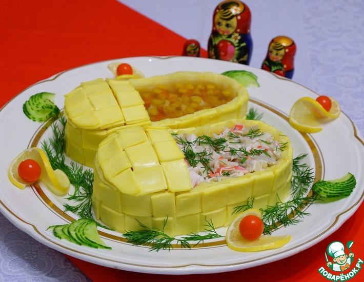 Рецепт: Салат Итальянцы в России