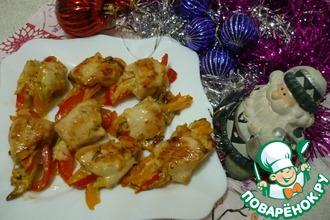 Рецепт: Закуска Петушиные хвосты