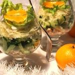 Новогодний салат Романтика