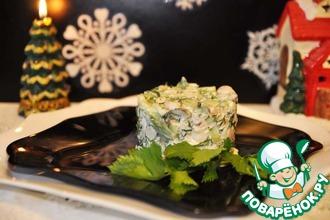 Рецепт: Салат с дичью Для королевского стола