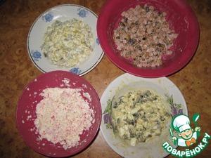 """Салат """"Ежик"""" – кулинарный рецепт"""