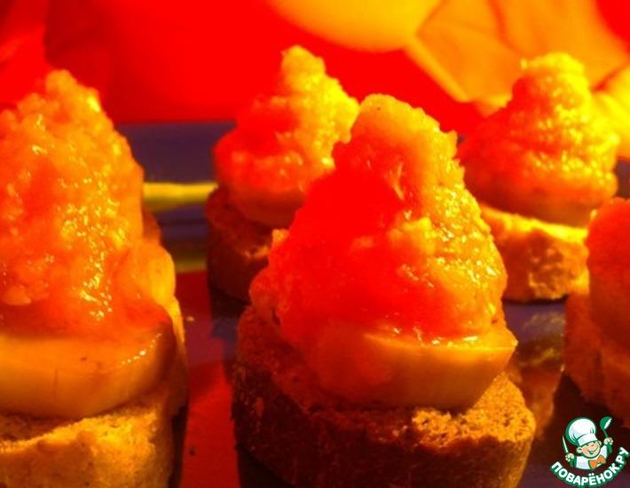 Рецепт: Жареные баклажаны с холодным маринадом