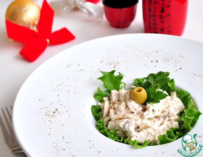 Рецепт: Закуска-салат Пьемонтский