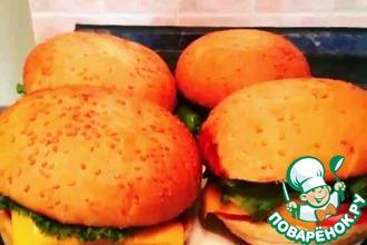 Рецепт: Чизбургер