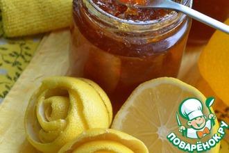 Рецепт: Лимонный конфитюр