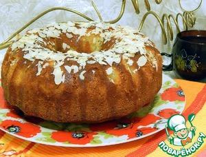 Рецепт Лимонный кекс с маковой начинкой