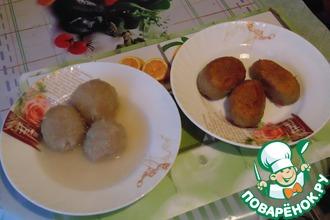 Рецепт: Белорусские клецки