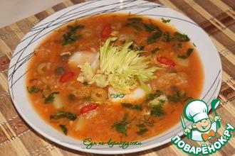 Рецепт: Суп по-веракрусски