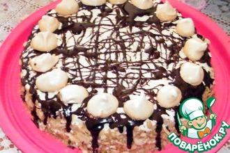 Рецепт: Торт Загляденье