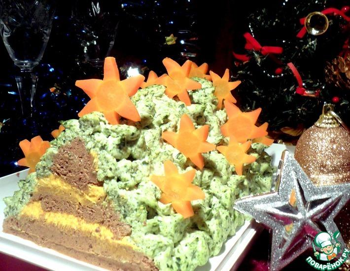 Рецепт: Новогодний паштет