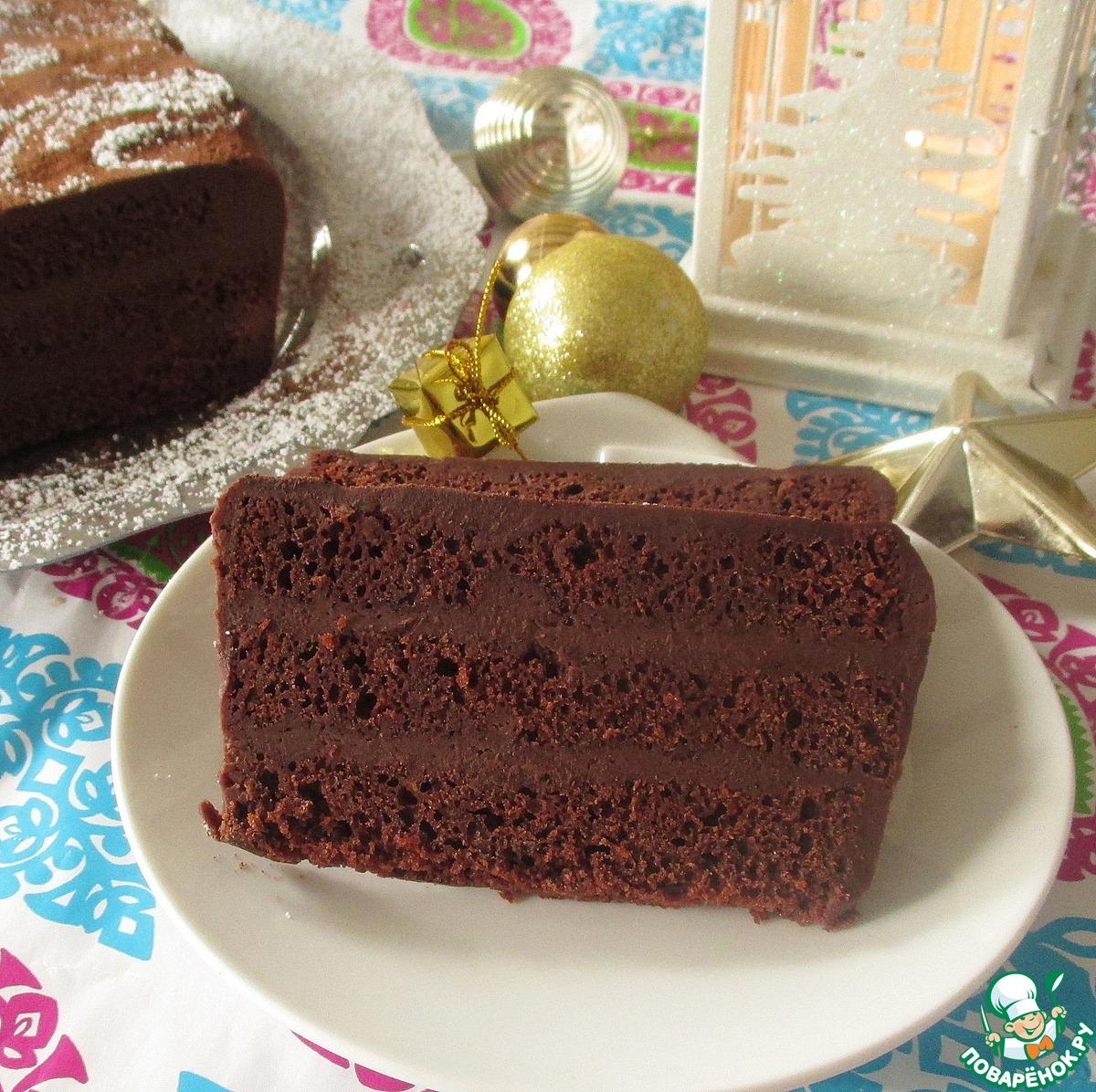 Пряный шоколадный террин