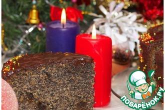 Рецепт: Рождественский маковый торт