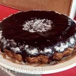 Песочный пирог с грецкими орехами