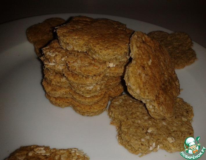 Рецепт: Шотландское овсяное печенье