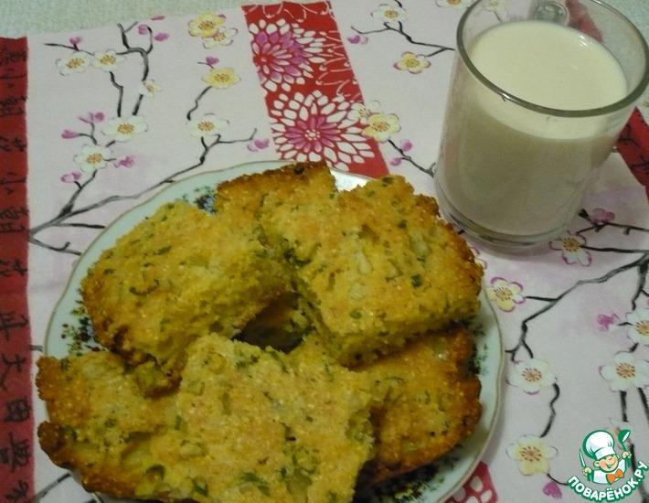 Рецепт: Кукурузный хлеб с перцем и луком