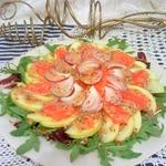 Салат Рыба в яблоках