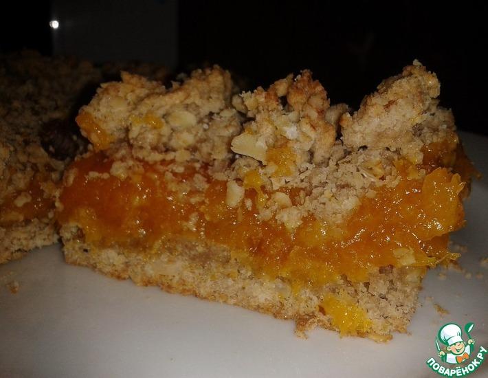 Рецепт: Обсыпное пирожное