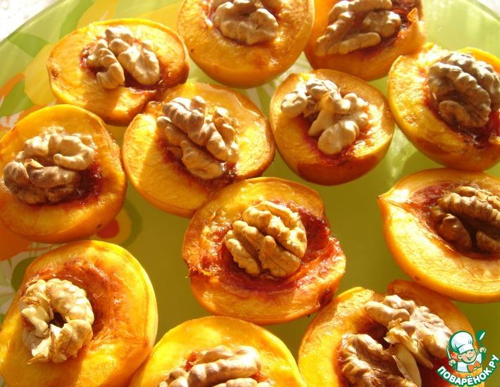 Рецепт: Персики в меду
