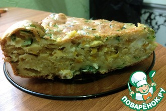 Рецепт: Пирог с капустой Пикантный