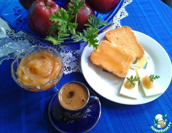 Рецепт: Айвовый джем Золотое яблоко Афродиты