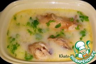 Рецепт: Чихиртма из курицы