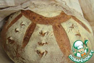 Рецепт: Французский хлеб на закваске